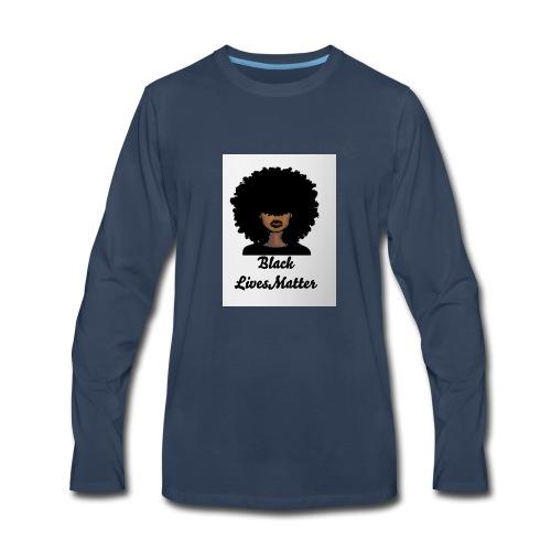 Black lives matter - Men's Premium Long Sleeve T-Shirt