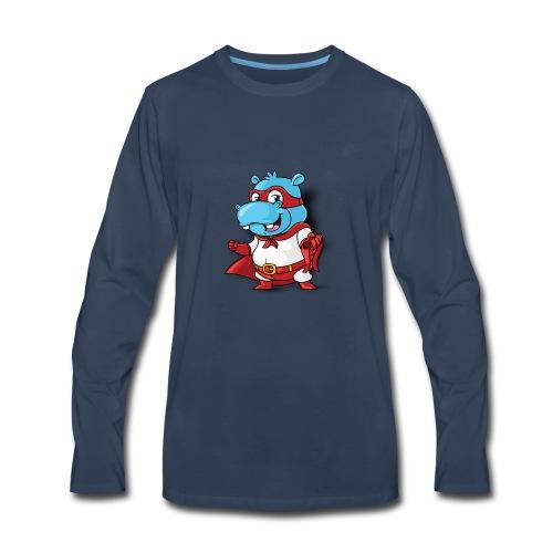 HippoPlays Official Merch - Men's Premium Long Sleeve T-Shirt