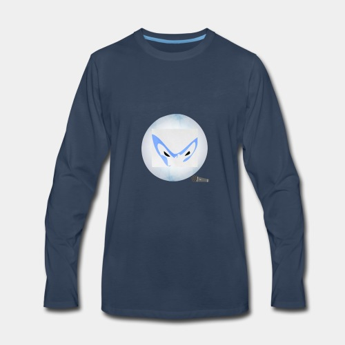 Mrignut logo#2 - Men's Premium Long Sleeve T-Shirt