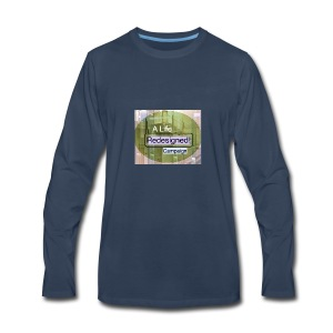PowerWords secondB - Men's Premium Long Sleeve T-Shirt