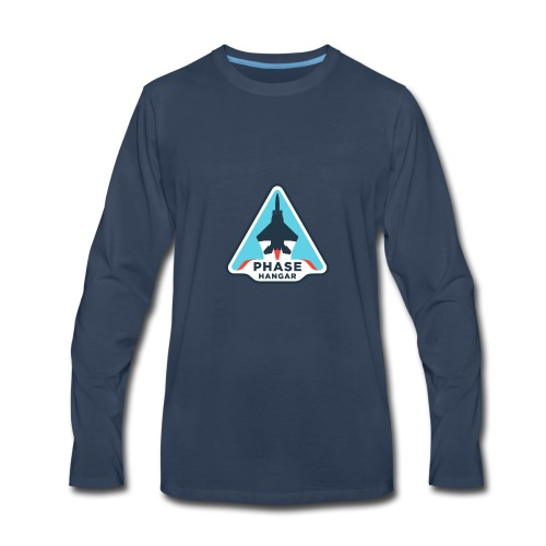 Phase Hangar Logo Phase Hangar Logo - Men's Premium Long Sleeve T-Shirt