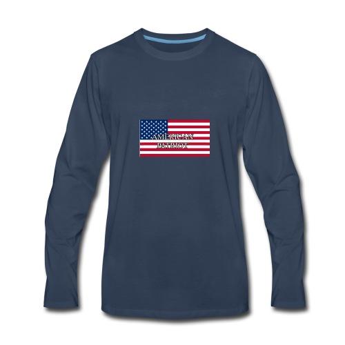 American Patriot - Men's Premium Long Sleeve T-Shirt