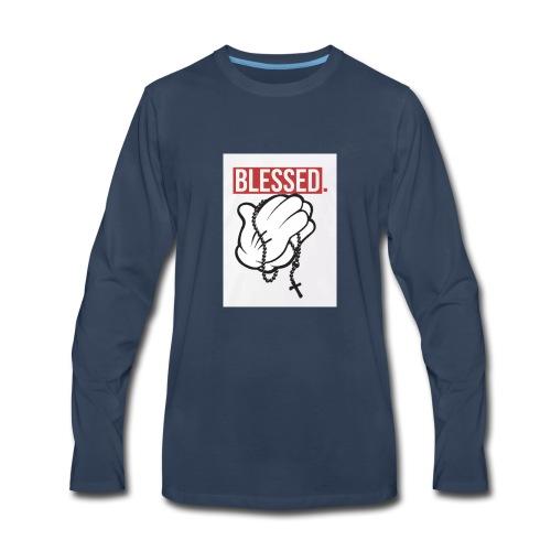 Blessed - Men's Premium Long Sleeve T-Shirt