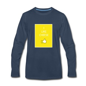 i like cheese - Men's Premium Long Sleeve T-Shirt