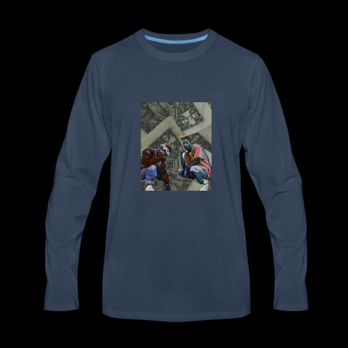 Kill$x,T3 - Men's Premium Long Sleeve T-Shirt