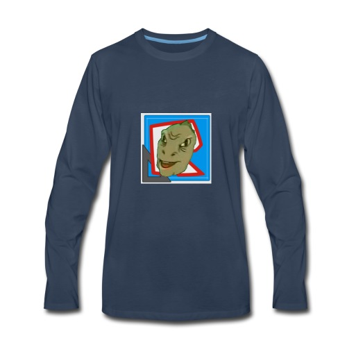 WOC AWT Logo Shirt - Men's Premium Long Sleeve T-Shirt