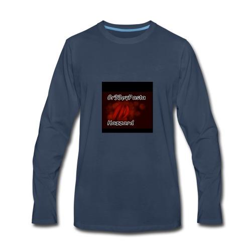 Creepypasta hazzard claw mark - Men's Premium Long Sleeve T-Shirt