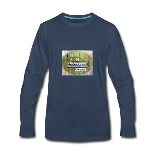 PowerWords secondB - Men's Premium Long Sleeve T-Shirt