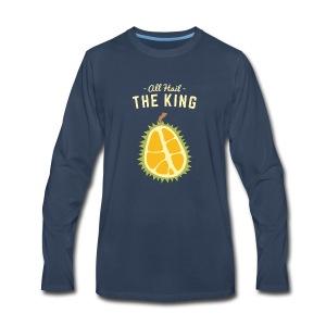 the king fruit - Men's Premium Long Sleeve T-Shirt