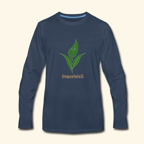 PeaceWell - Support your vendor! - Men's Premium Long Sleeve T-Shirt