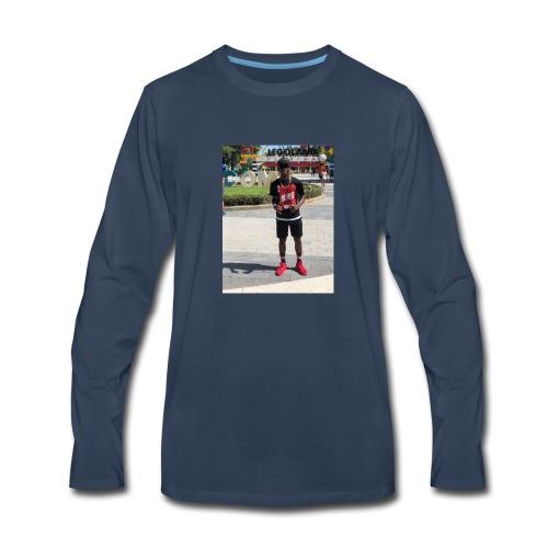genius Production vlog - Men's Premium Long Sleeve T-Shirt