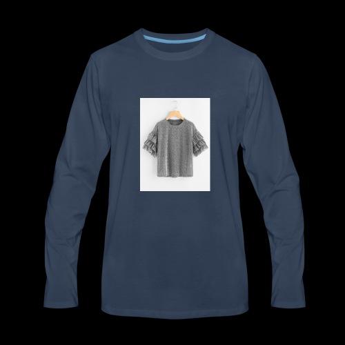 Plain dress shirt - Men's Premium Long Sleeve T-Shirt