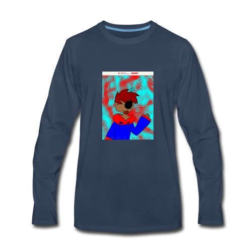 Meko the human - Men's Premium Long Sleeve T-Shirt