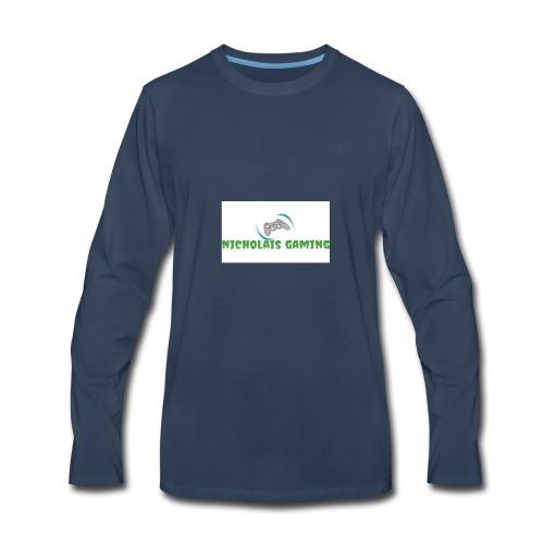 My new gaming logo - Men's Premium Long Sleeve T-Shirt