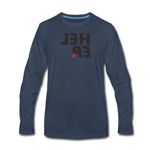 heleup - Men's Premium Long Sleeve T-Shirt