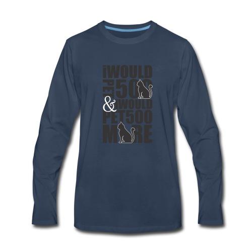 Love Cats - Men's Premium Long Sleeve T-Shirt