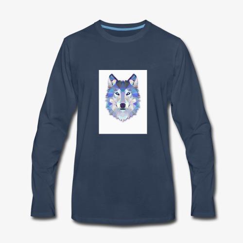 03C44236 E125 478F A95B 562E3340E759 - Men's Premium Long Sleeve T-Shirt
