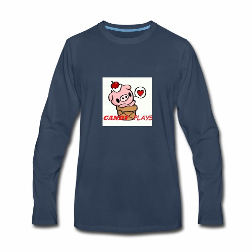 Candy Plays - Men's Premium Long Sleeve T-Shirt