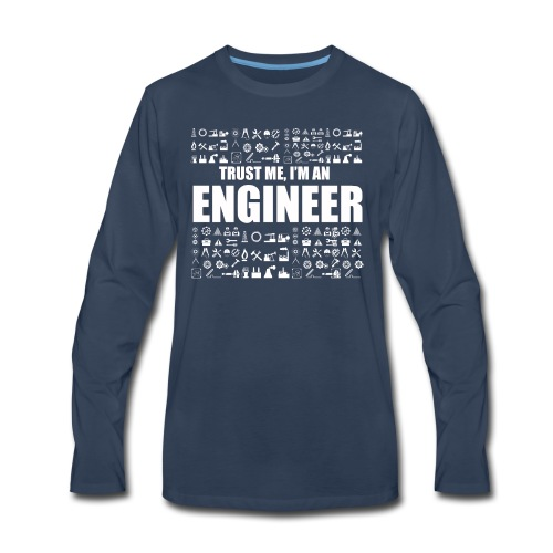 Engineer T-Shirt Limited Edition - Men's Premium Long Sleeve T-Shirt