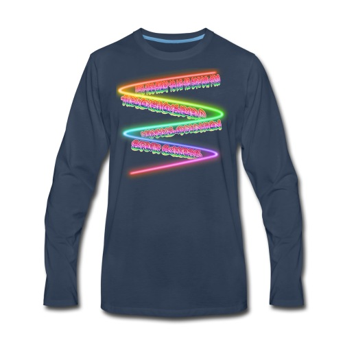 Awesome Phrase Men's Products - Men's Premium Long Sleeve T-Shirt