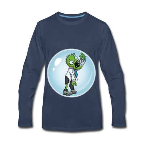Zombie in a bubble - Men's Premium Long Sleeve T-Shirt