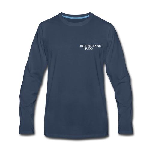 Borderland Judo - Simple - Men's Premium Long Sleeve T-Shirt