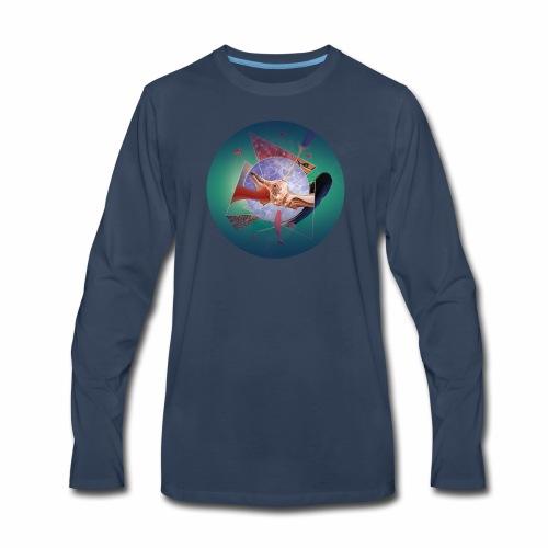 Organic network composition - Men's Premium Long Sleeve T-Shirt