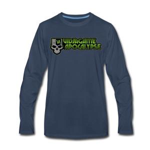 VGA Logo - Men's Premium Long Sleeve T-Shirt