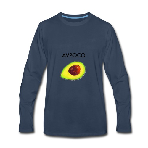 AVPOCO Avocado - Men's Premium Long Sleeve T-Shirt