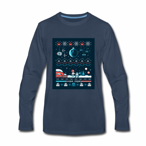 Star Wars Christmas Long Sleeve - Men's Premium Long Sleeve T-Shirt