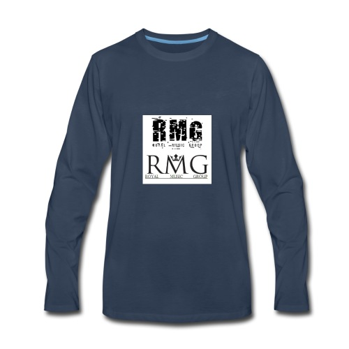 R.M.G.(Royal Music Group) - Men's Premium Long Sleeve T-Shirt