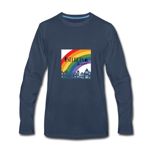 Secrets PRIDE march - Men's Premium Long Sleeve T-Shirt