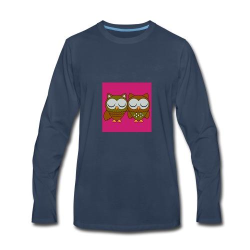 hoot hoot - Men's Premium Long Sleeve T-Shirt