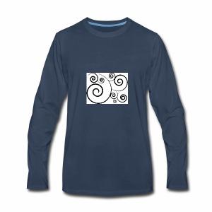 'I just want a Swirly Swirly' - Men's Premium Long Sleeve T-Shirt