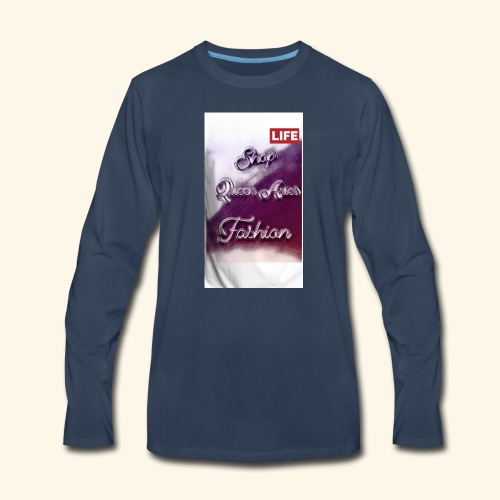 Queen Aries life - Men's Premium Long Sleeve T-Shirt