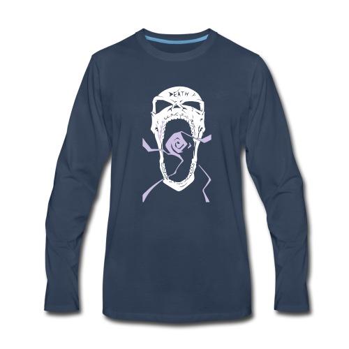 Rage Dead Skull - Men's Premium Long Sleeve T-Shirt