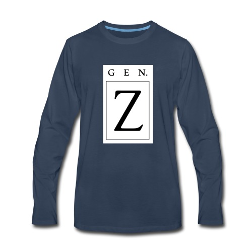 Generation Z - Men's Premium Long Sleeve T-Shirt