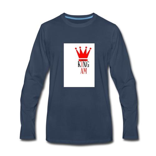 king Iam - Men's Premium Long Sleeve T-Shirt