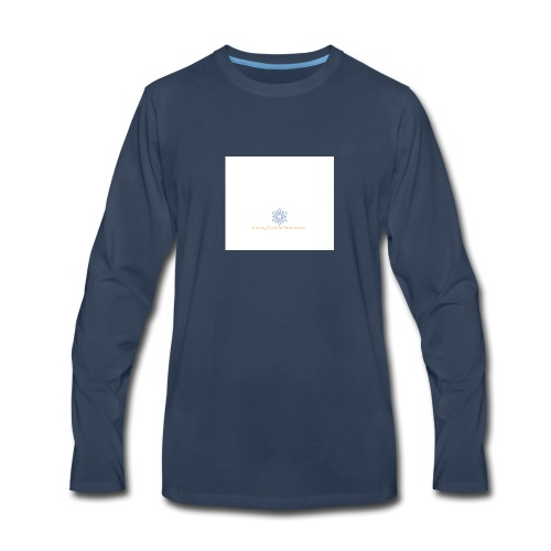 Logo 2 - Men's Premium Long Sleeve T-Shirt
