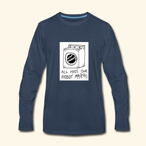 The Aalam Dzign's - Men's Premium Long Sleeve T-Shirt