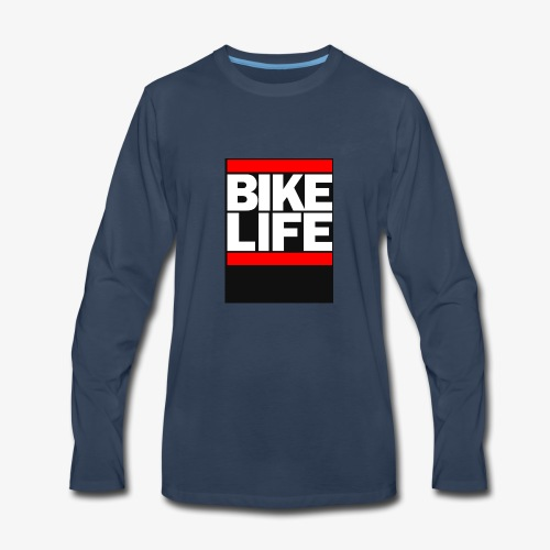 bike life - Men's Premium Long Sleeve T-Shirt