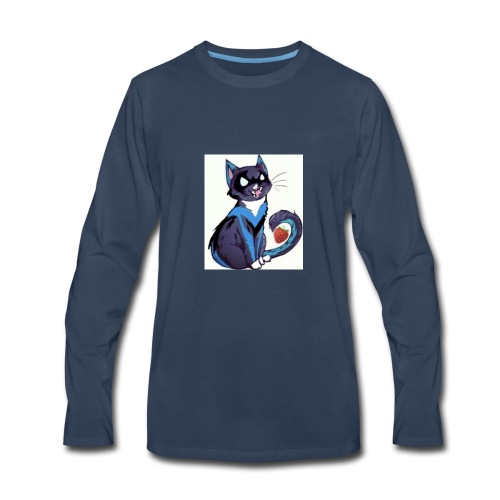 Nightwing is fruitcat - Men's Premium Long Sleeve T-Shirt