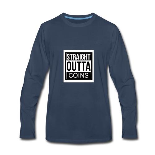 OUTTA COINS - Men's Premium Long Sleeve T-Shirt