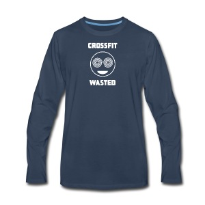X-fit Wasted - Men's Premium Long Sleeve T-Shirt