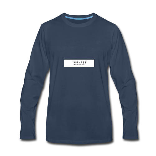 BIGNESS Ponsonby's - Men's Premium Long Sleeve T-Shirt