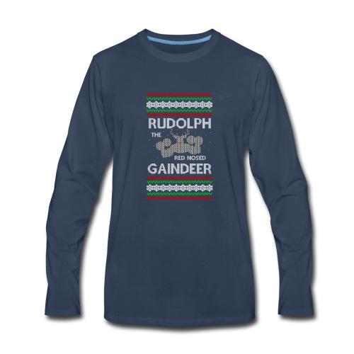 Rudolph the Gaindeer - Men's Premium Long Sleeve T-Shirt