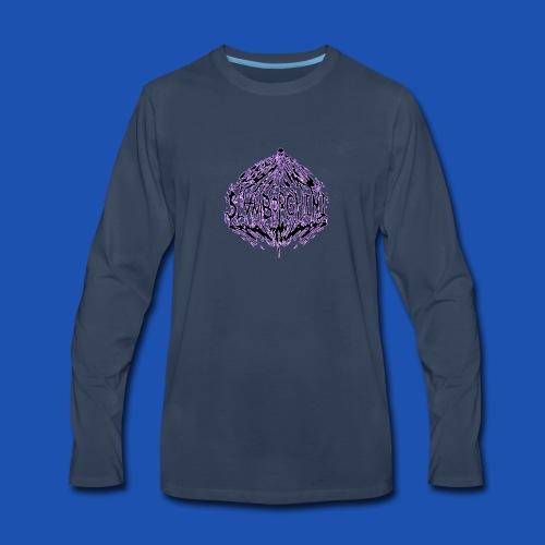 SLAMBORGHINI ELECTRIC PURP - Men's Premium Long Sleeve T-Shirt