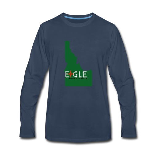Eagle Idaho - Men's Premium Long Sleeve T-Shirt