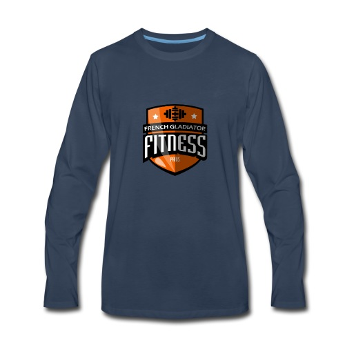 FITNESS FRENCH GLADIATOR - Men's Premium Long Sleeve T-Shirt