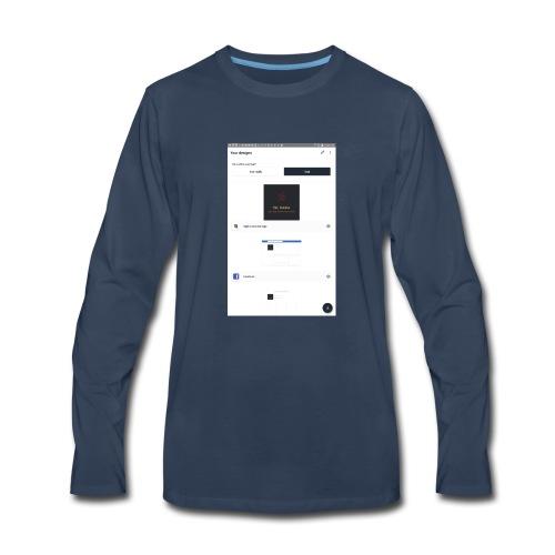 Screenshot 20180521 215009 - Men's Premium Long Sleeve T-Shirt